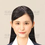 履歴書用写真,髪型見本8