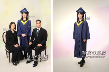 卒業写真,ご家族写真