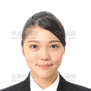 就活写真 髪型 女性