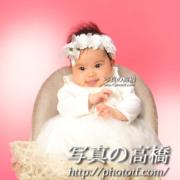 小岩,お宮参り写真,100日記念