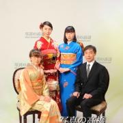 成人式家族記念写真は江戸川区