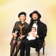 家族写真,お宮参り,小岩