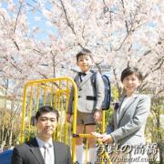 入学式記念写真 スナップ写真