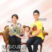 ご家族写真は東京フォトスタジオ,江戸川区写真館,