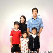 家族写真は江戸川区