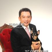 チワワ,東京フォトスタジオ,ペットと一緒に成人式写真