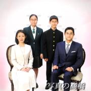 家族写真,入学記念は江戸川区