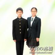 入学式記念写真,家族写真