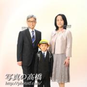 入学記念写真,家族写真