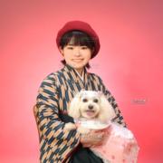 東京,卒業式写真,ペットと一緒