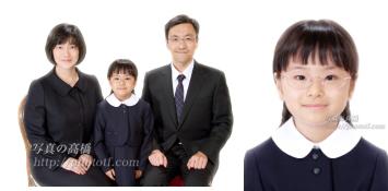 小学校受験 写真 受験用家族証明写真