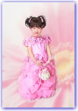 七五三写真 3歳 ドレス 髪型 衣装無料