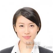 就職活動証明写真 髪型ショート1