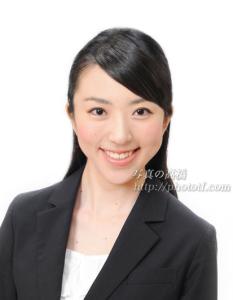 就職用ES写真 CA就職活動証明写真 笑顔が素敵なCA写真015  CA髪形も