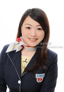 TBSラジオミュージックプレゼントの美人アシスタント