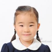 小学校受験用写真 服装 髪型見本