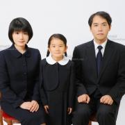 受験用家族写真 服装例