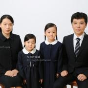受験用家族写真 服装