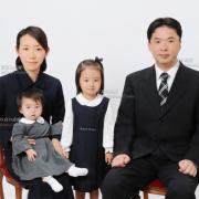 幼稚園受験写真 願書用ご家族写真15