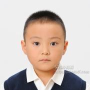国立小学校受験写真 男児 髪型 服装例