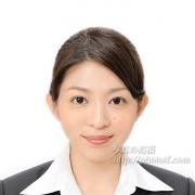 就職活動 写真 服装25 アップスタイル 前髪