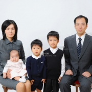 国立(私立)小学校受験 ご家族写真 服装 髪型 例