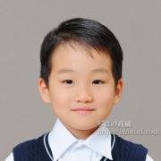 国立(私立)小学校受験 ニットのベスト 髪型例