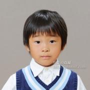 国立(私立)小学校受験 シャツに紺のベストで