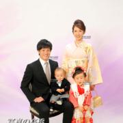 家族写真,七五三,小岩