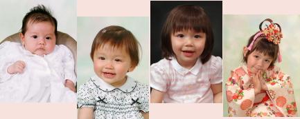 子供写真館の子供写真 キッズフォト 東京写真館 写真の高橋 江戸川区写真スタジオ
