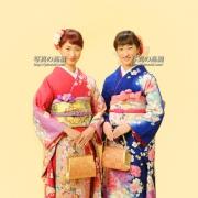 成人式写真は江戸川区写真館,双子ちゃん