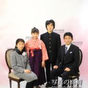 小岩,小学校卒業家族写真