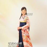 卒業袴写真,江戸川区 小岩の写真スタジオで