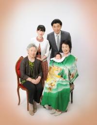 家族写真 撮影 東京 写真スタジオ 写真の高橋