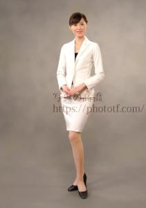 エアライン ,フライトアテンダント,CA 受験証明の全身,アナウンサー用就職証明写真