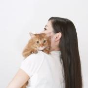 猫ちゃん,ペットと一緒に写真撮影
