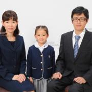 受験用家族写真 ご家族の服装例