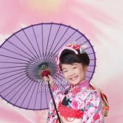 七五三 写真 江戸川区写真スタジオで笑顔