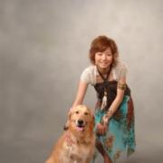娘さんは成人式にもペットと一緒に記念撮影されました。愛犬ミキちゃんと娘さんは大の仲良しさんです。