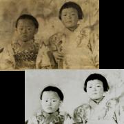 写真修復 古写真再生復元