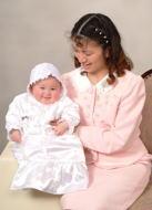 (C)写真の高橋  ご家族写真 ママと赤ちゃん