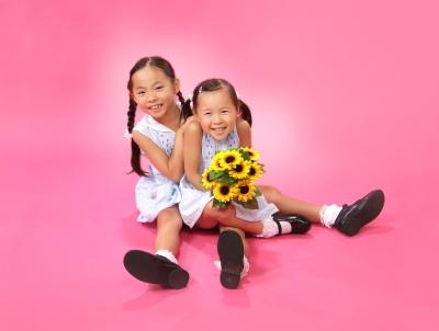 (C)  東京写真館 写真スタジオ 写真の高橋 子供写真館