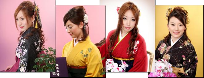 卒業記念/卒業式写真 袴姿は江戸川区の写真館