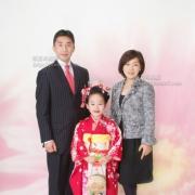 写真 七五三ご家族写真 江戸川区