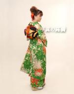 東京写真館 成人式 髪型で 記念写真