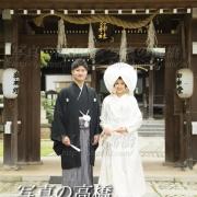 東京江戸川区,小岩神社で結婚式記念撮影は写真の高橋
