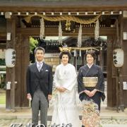 東京江戸川区,小岩神社で結婚式記念は写真の高橋
