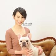 ペットと一緒にプロフィール写真婚活写真は東京