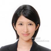 就職活動写真 表情髪型ボブショート24