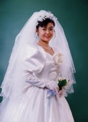 ブライダル写真 ペットと一緒に結婚式写真 写真の高橋  結婚写真5